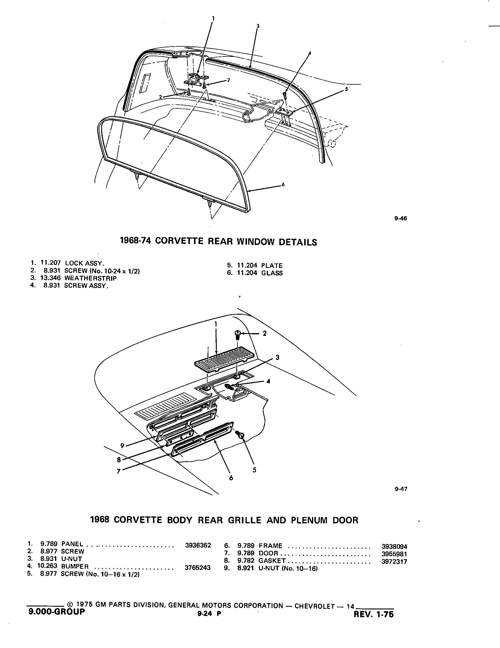 Group9 Body Mounting Air Conditioning / 1953-1973 Corvette