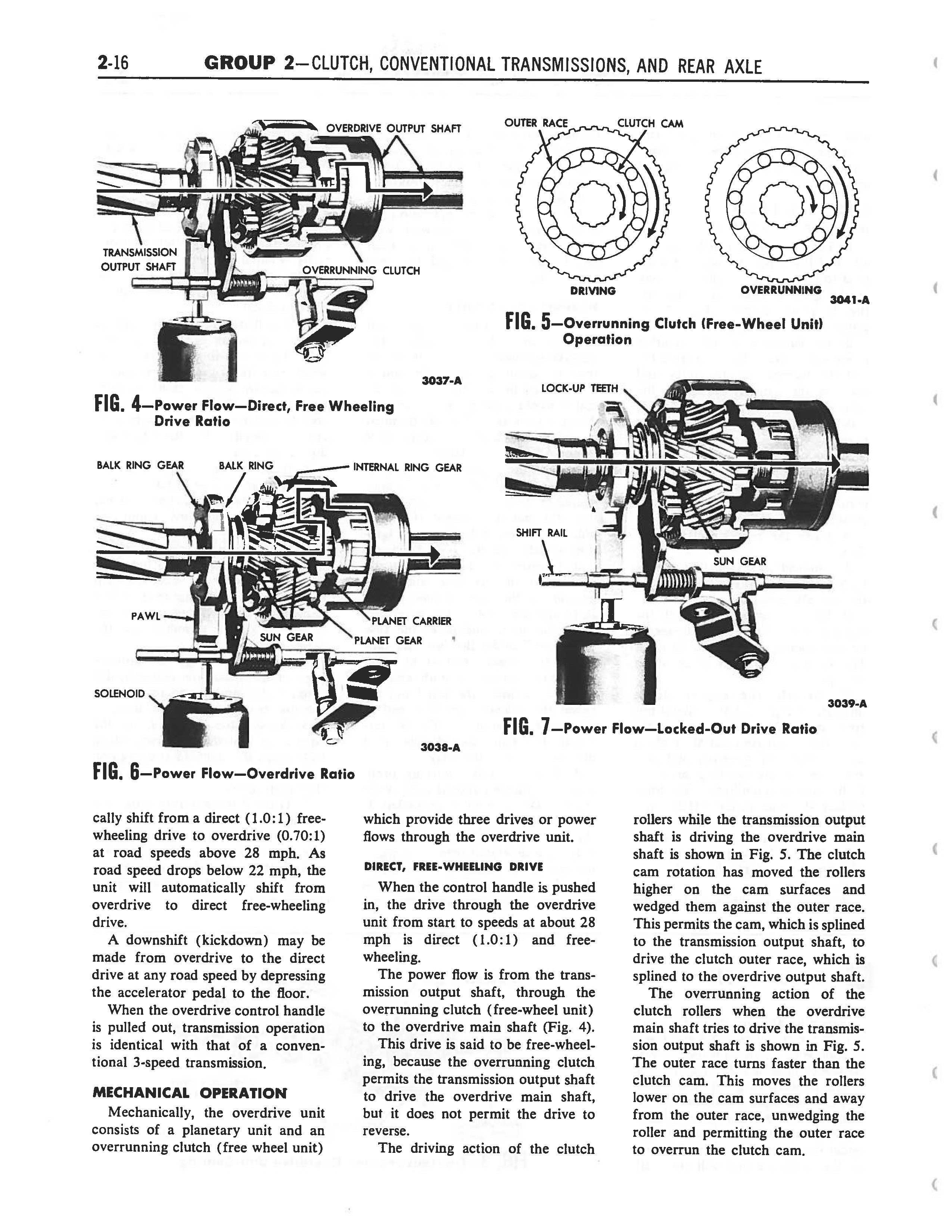 1958 Ford Thunderbird Shop Manual page 102 of 360