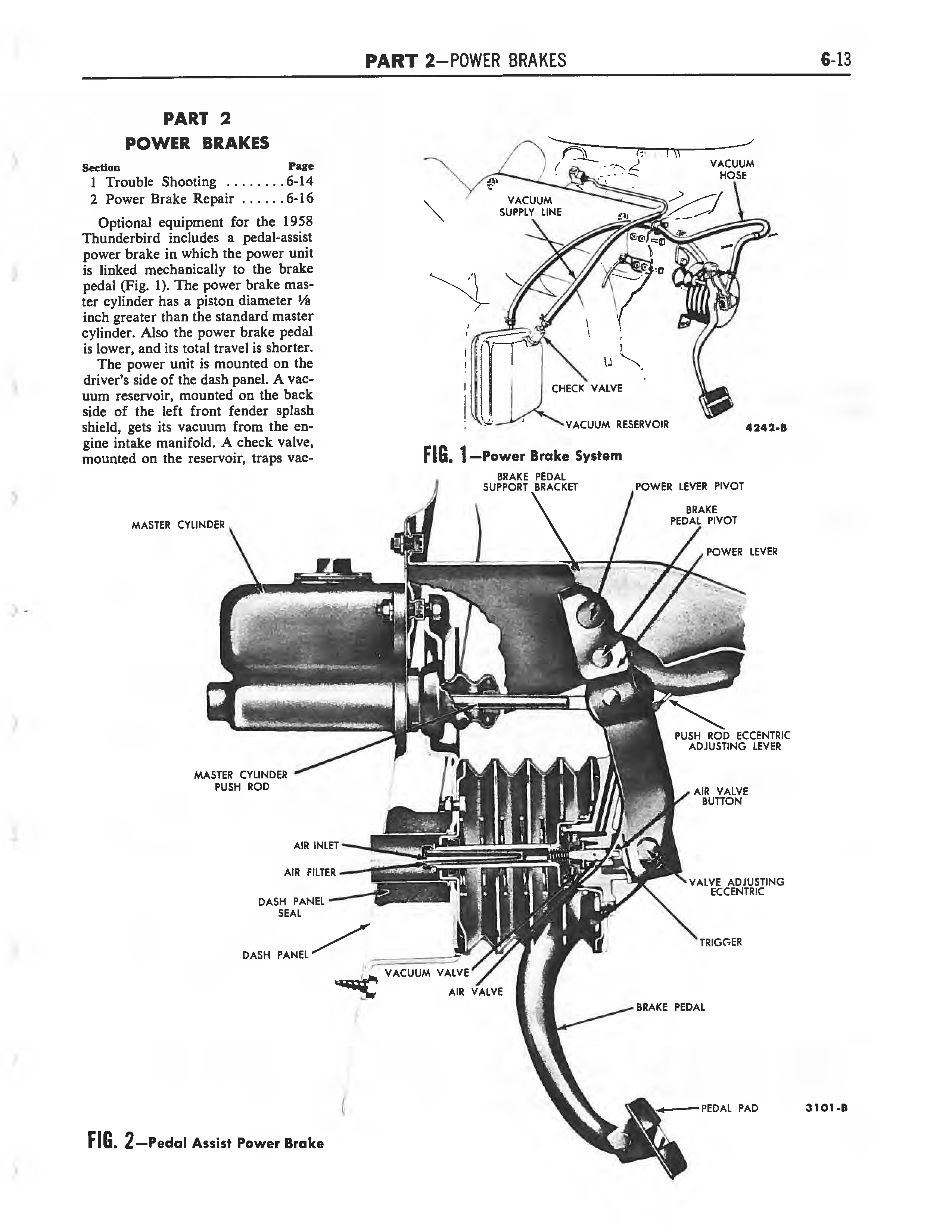 1958 Ford Thunderbird Shop Manual page 233 of 360