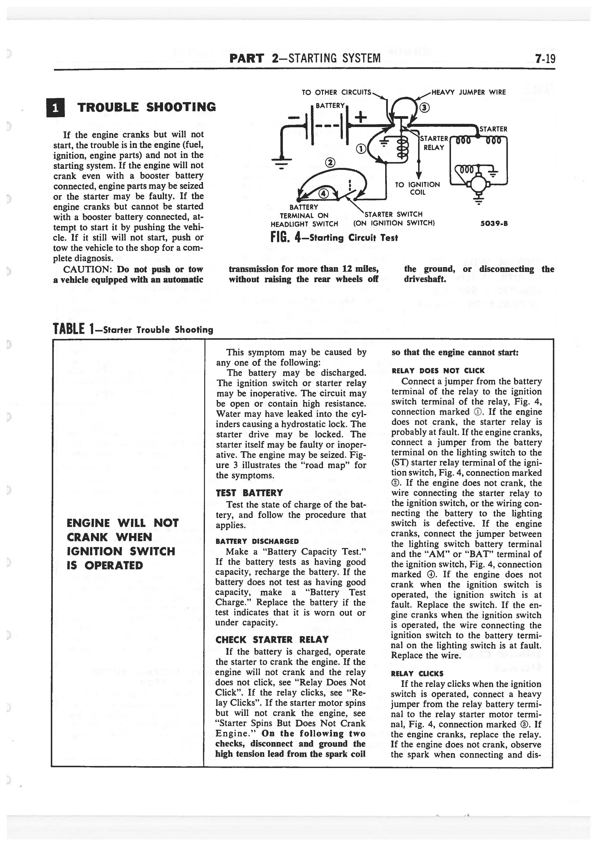 1958 Ford Thunderbird Shop Manual page 257 of 360