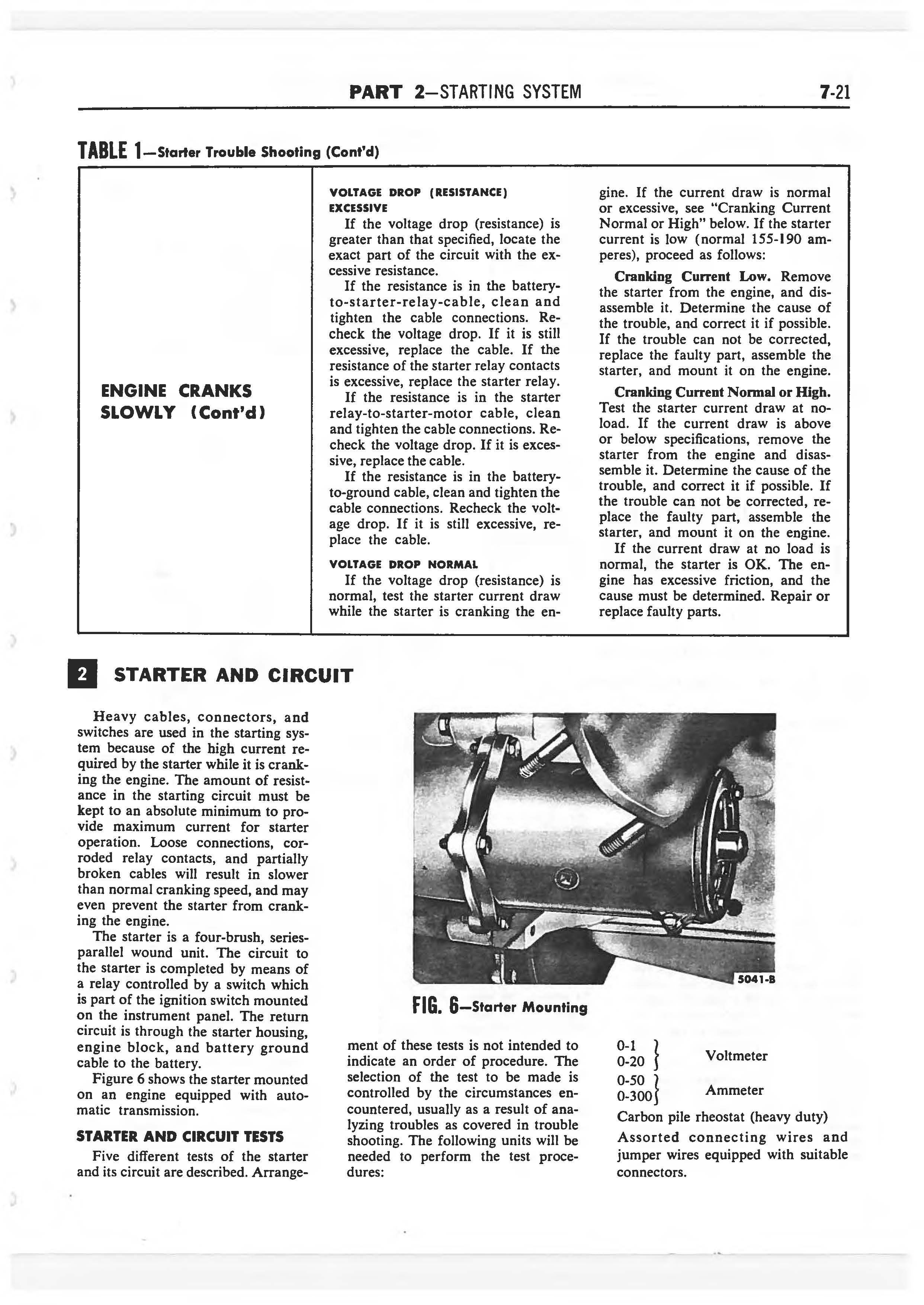 1958 Ford Thunderbird Shop Manual page 259 of 360