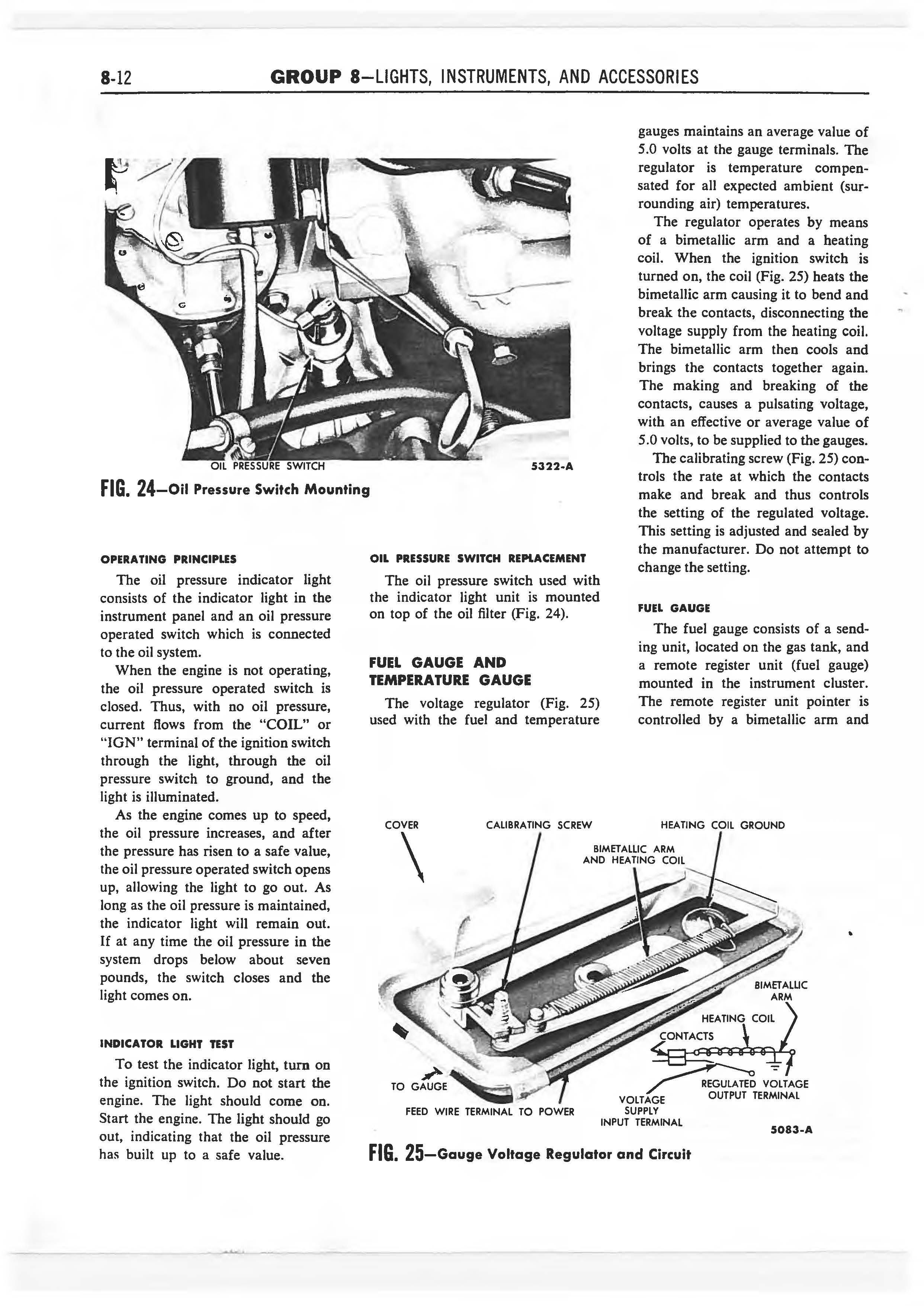 1958 Ford Thunderbird Shop Manual page 277 of 360