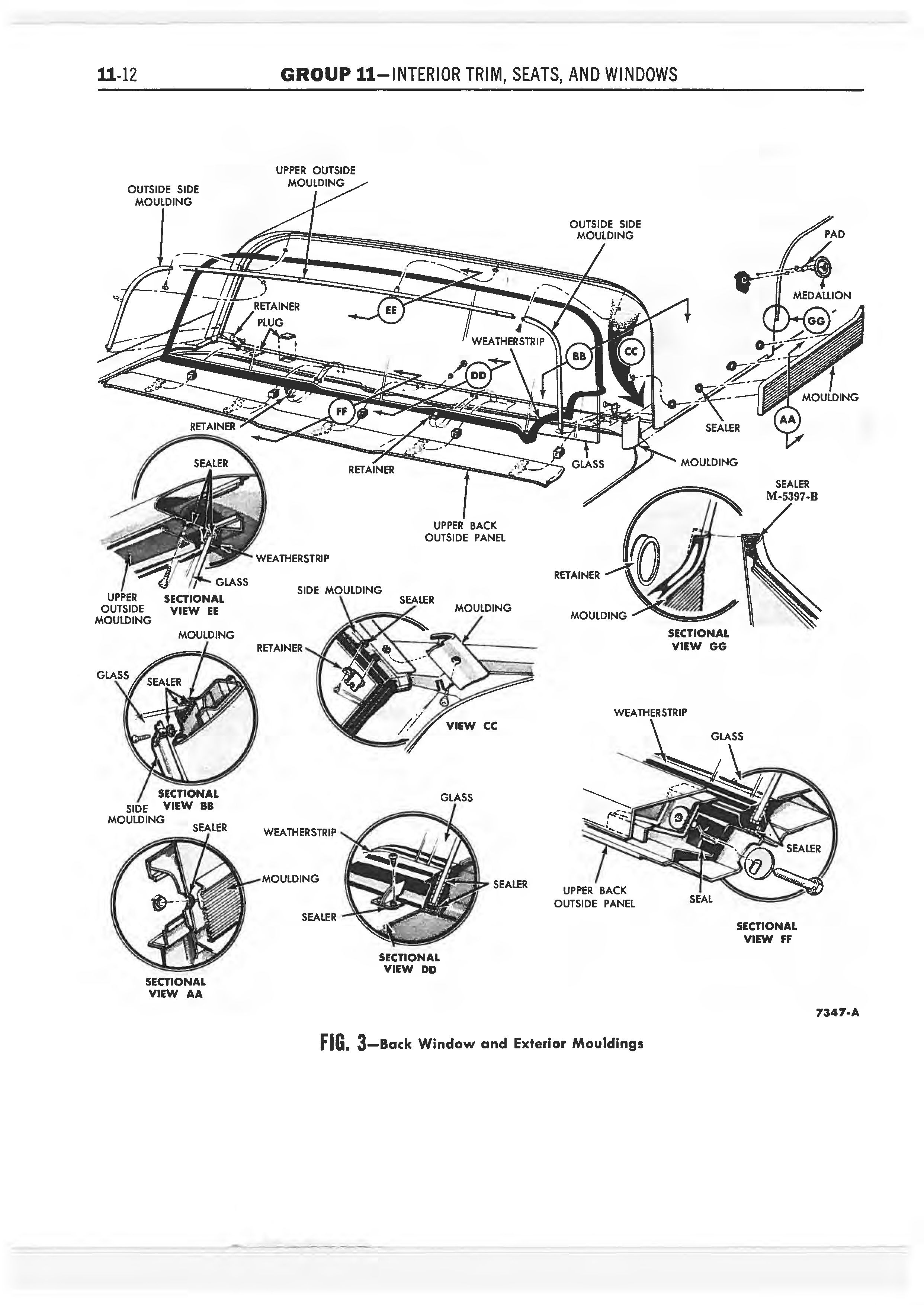 1958 Ford Thunderbird Shop Manual page 325 of 360