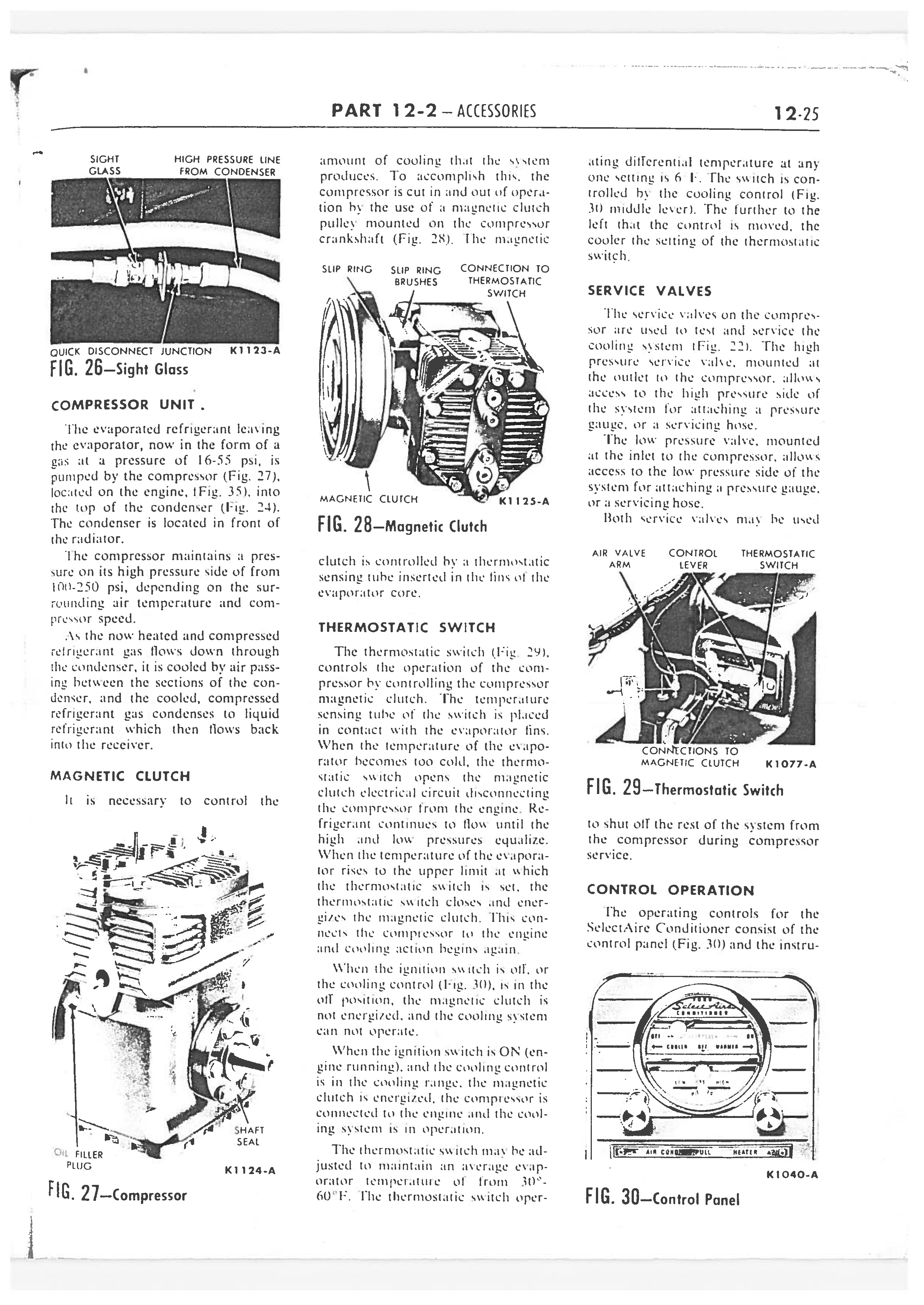 1958 Ford Thunderbird Shop Manual page 350 of 360