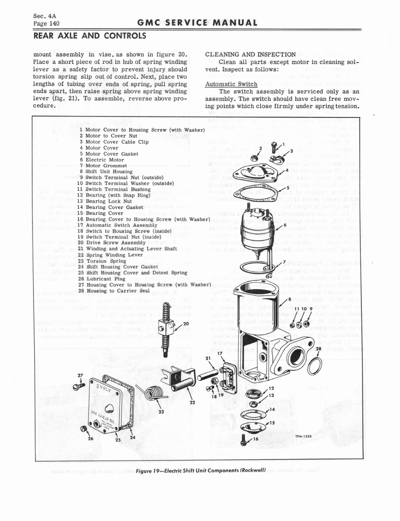 1966 GMC Service Manual Series 4000-6500 page 146 of 506