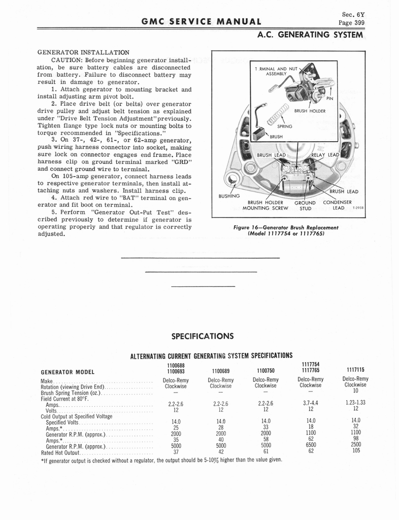1966 GMC Service Manual Series 4000-6500 page 405 of 506