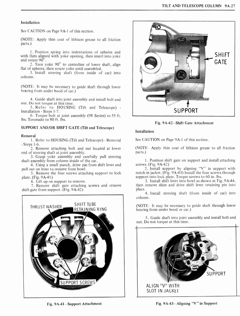 1976 Oldsmobile Service Manual page 1035 of 1390