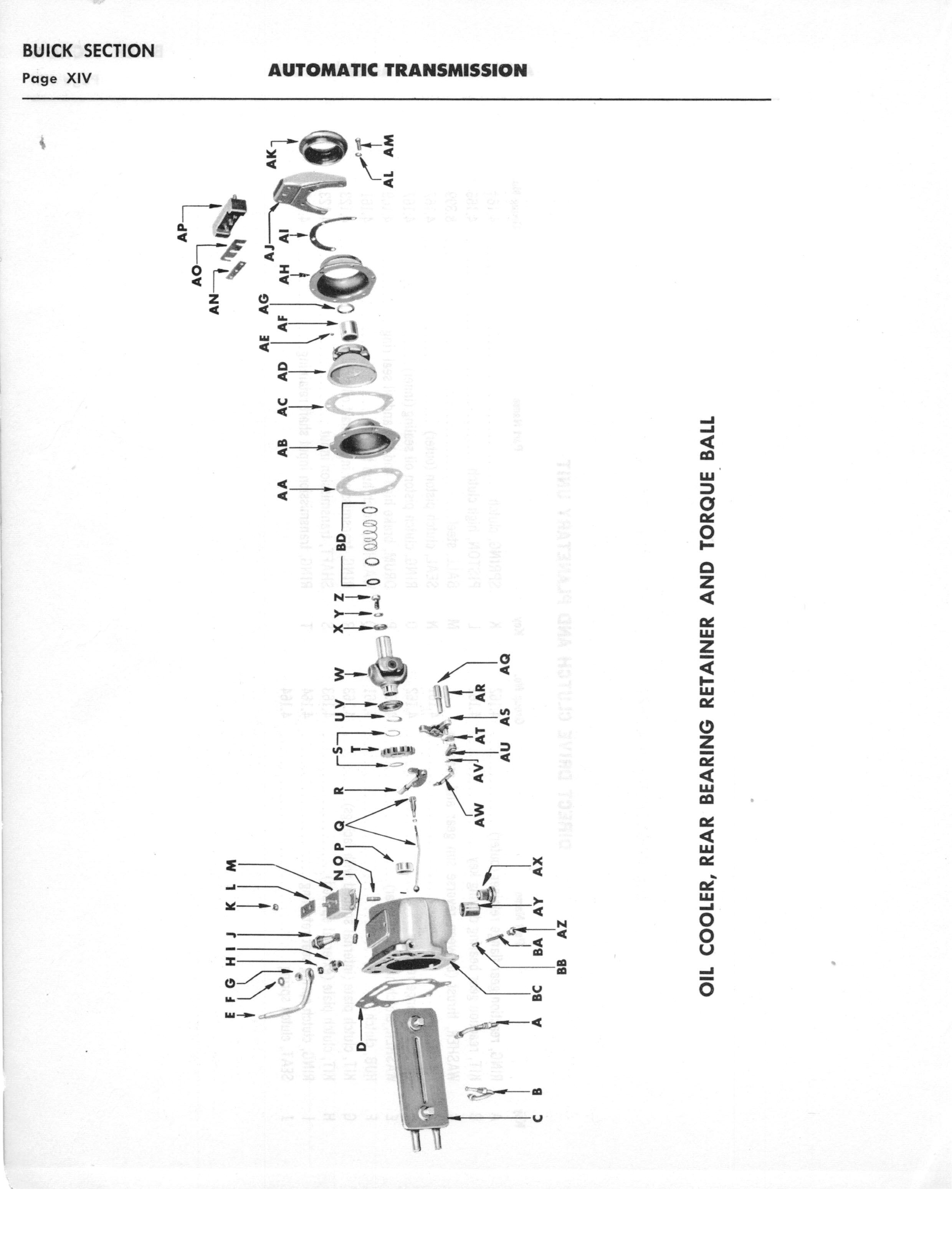 A-3010 Automatic Transmission Parts Catalog: Hydra-Matic