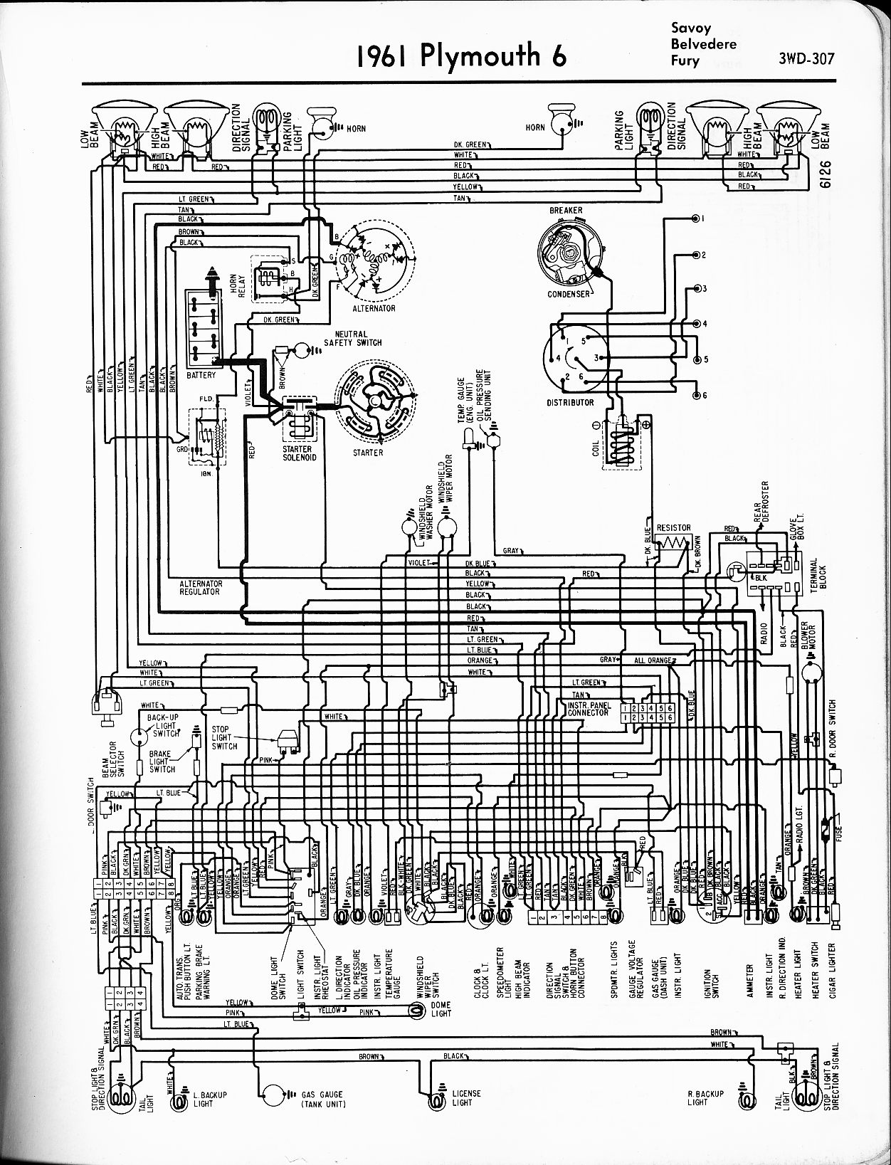 [DIAGRAM] 1965 Plymouth Belvedere Wiring Diagram FULL