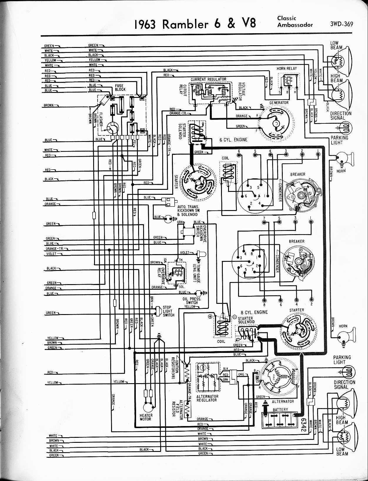 1966 buick wildcat wiring diagram electron dot of nh3 1965 rambler marlin free engine