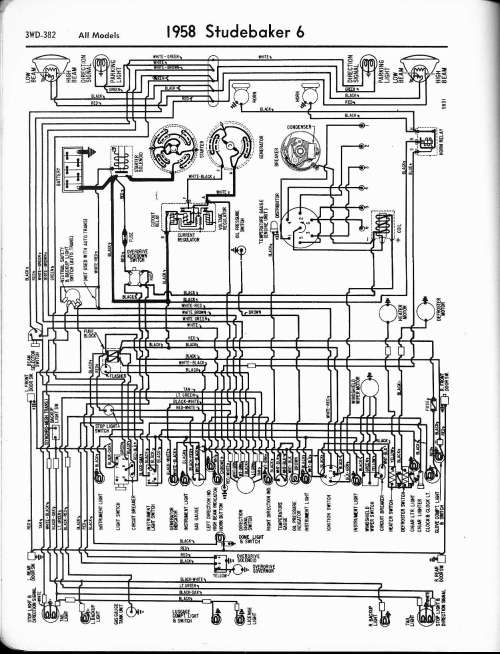 small resolution of wiring diagram for 1958 studebaker and packard clipper schema 1950 packard wiring diagram