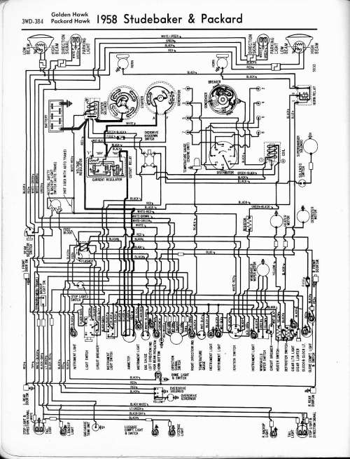 small resolution of studebaker wiring diagrams the old car manual project electrical wiring diagram for 1957 1959 studebaker truck