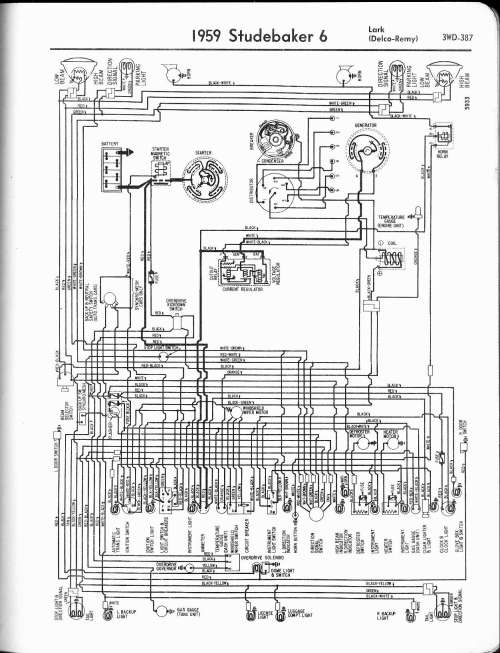 small resolution of lark wiring diagram wiring diagram centre mix studebaker wiring diagrams the old car manual project1959 6