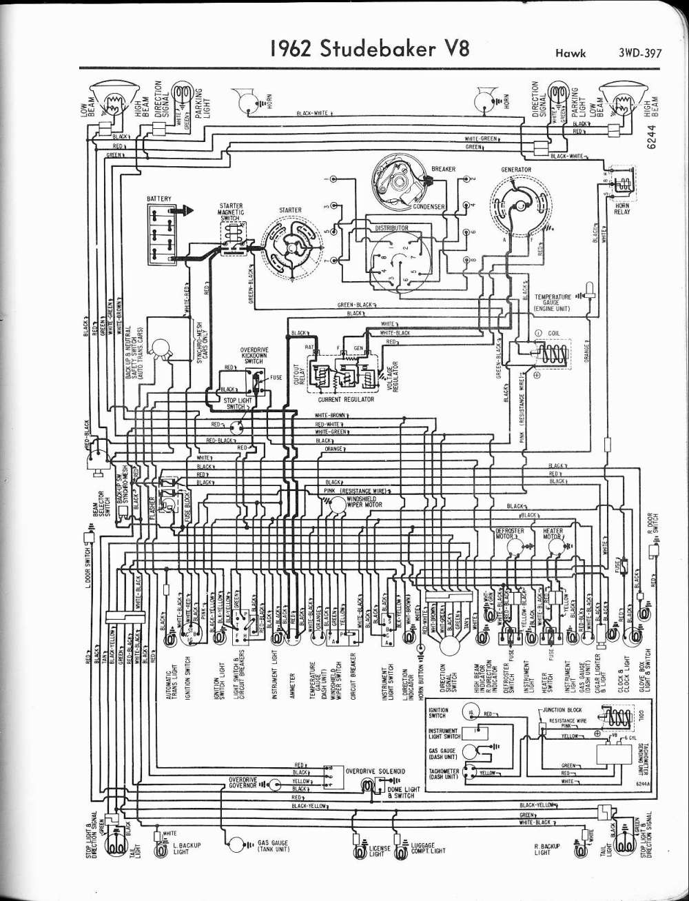 medium resolution of wiring diagram for 1962 studebaker 6 lark wiring diagram for youstudebaker wiring diagrams the old car