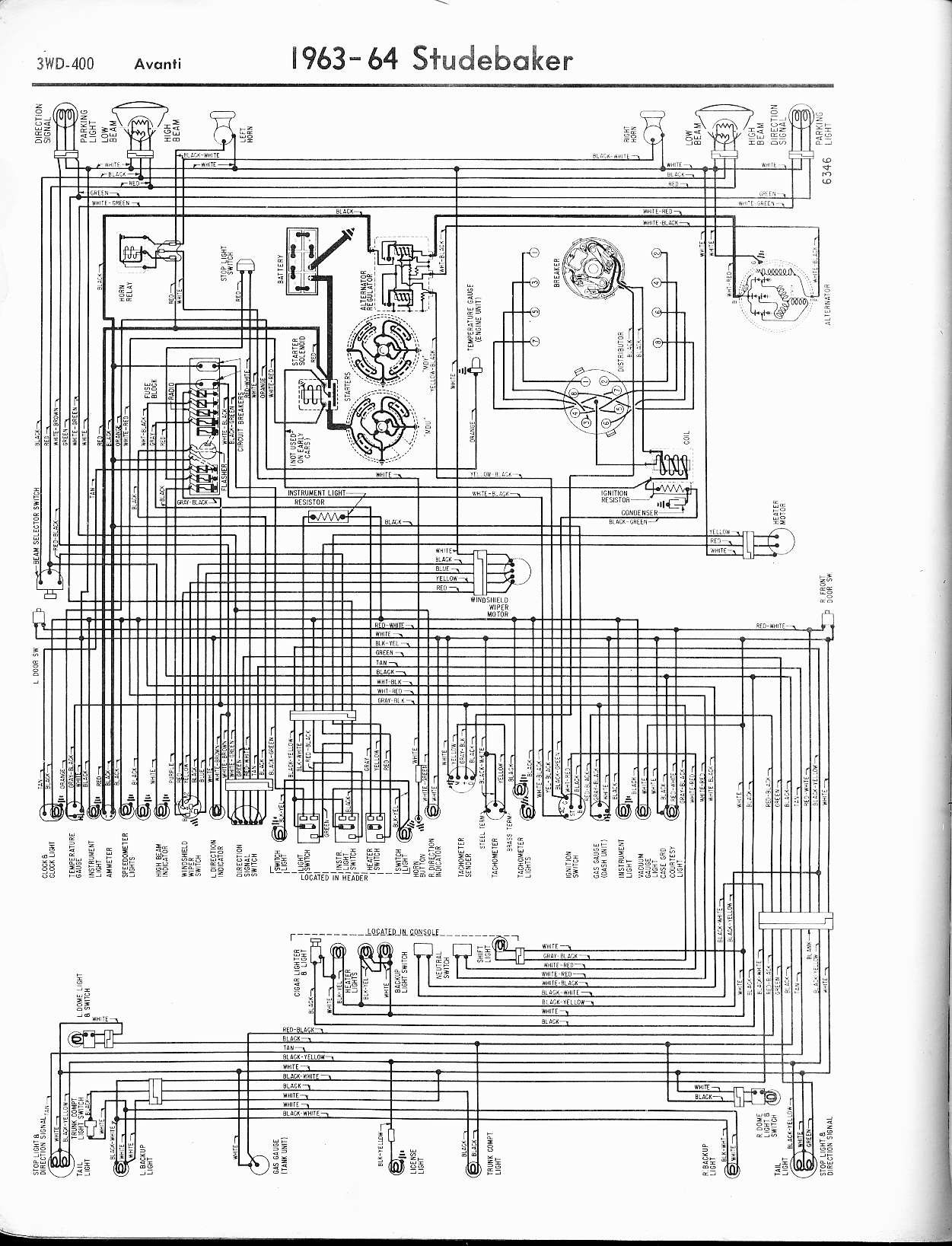 hight resolution of studebaker wiring diagrams the old car manual project rh oldcarmanualproject com 1950 studebaker champion turn signal circuit diagram 1969 camaro wiring