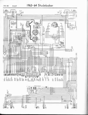 Studebaker wiring diagrams  The Old Car Manual Project