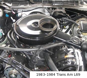 283 Chevy Engine Wiring Diagram 1983 1988 Chevrolet L69 5 0 Liter 305 Cid H O V8 A
