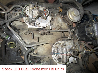 350 Tbi Wiring Diagram Fuel 1982 Amp 1984 L83 5 7 Liter Cross Fire Injection V8 Love