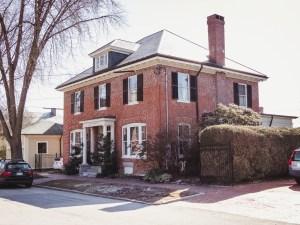 a Georgian Style House