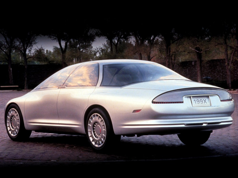 medium resolution of oldsmobile tube car concept 1989