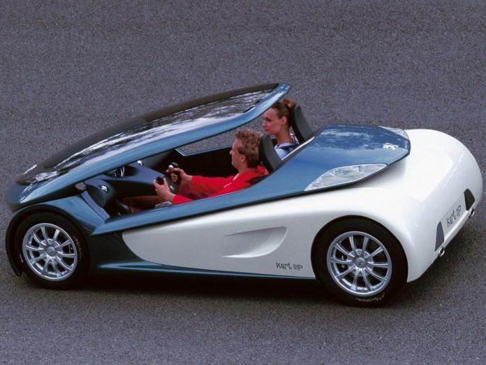 peugeot kartup (2000) – old concept cars