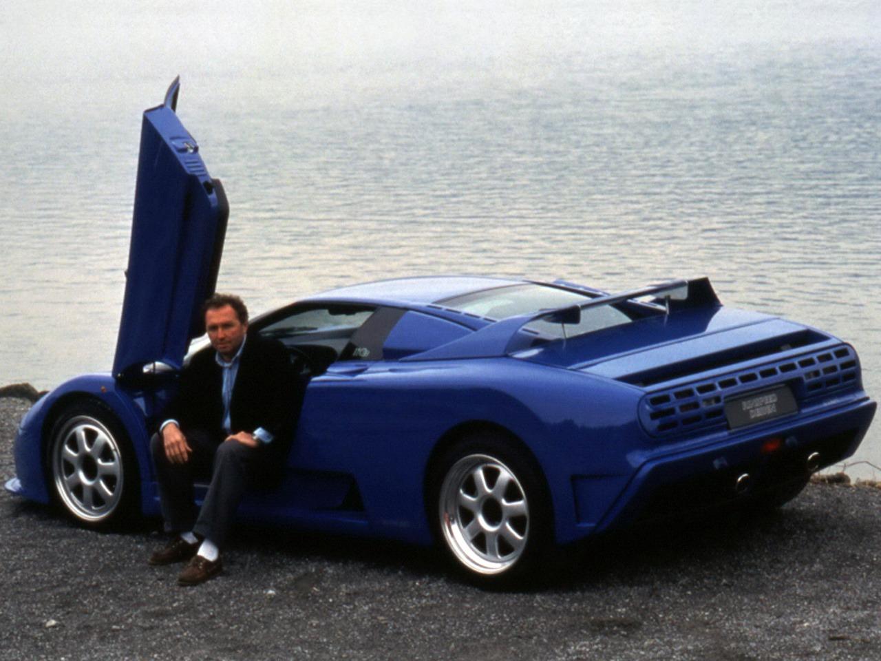 Bugatti Rinspeed Cyan 1994 Old Concept Cars