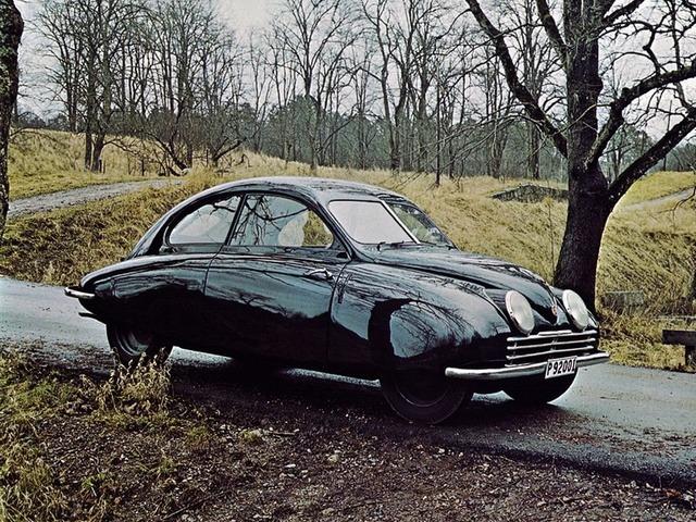 Phantom Car Wallpaper Saab 92 Prototype Ursaab 1947 Old Concept Cars