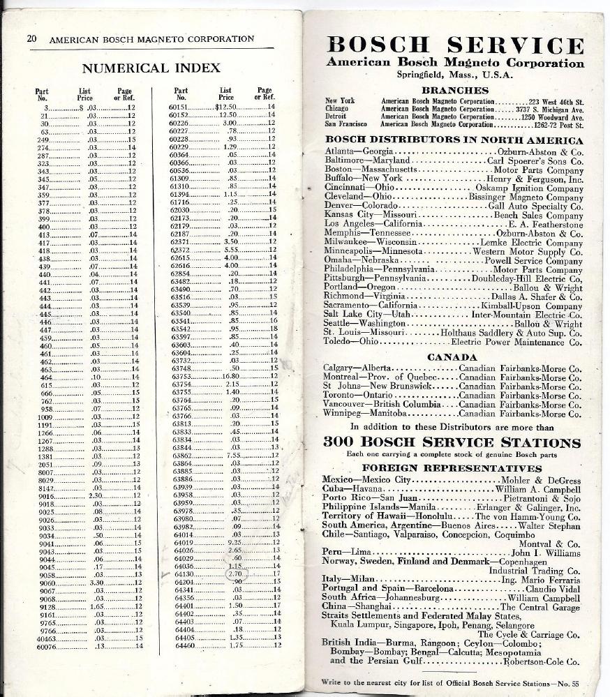 American Bosch B4 B6 magneto Manual