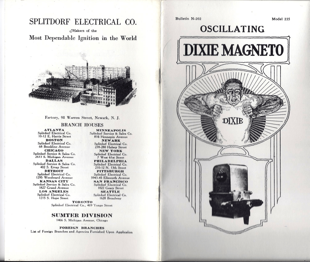 hight resolution of dixie 235 oscillating magneto skinny p1 png