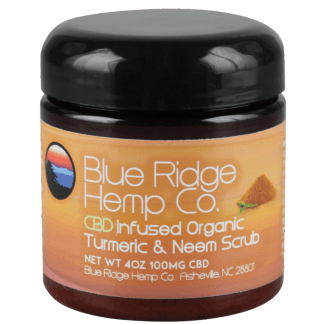 Blue Ridge Hemp Co. Turneric Neem Scrub