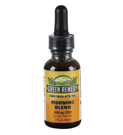 Green Remedy Hemp Extract 500 mg - Morning Blend