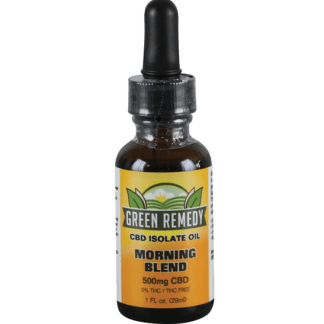 Green Remedy Hemp Extract 500 mg - Morning Blend
