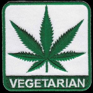 Vegetarian Hemp Leaf Patch