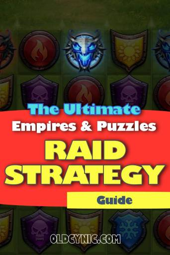 Image of poster for Ultimate Raid Strategy guide