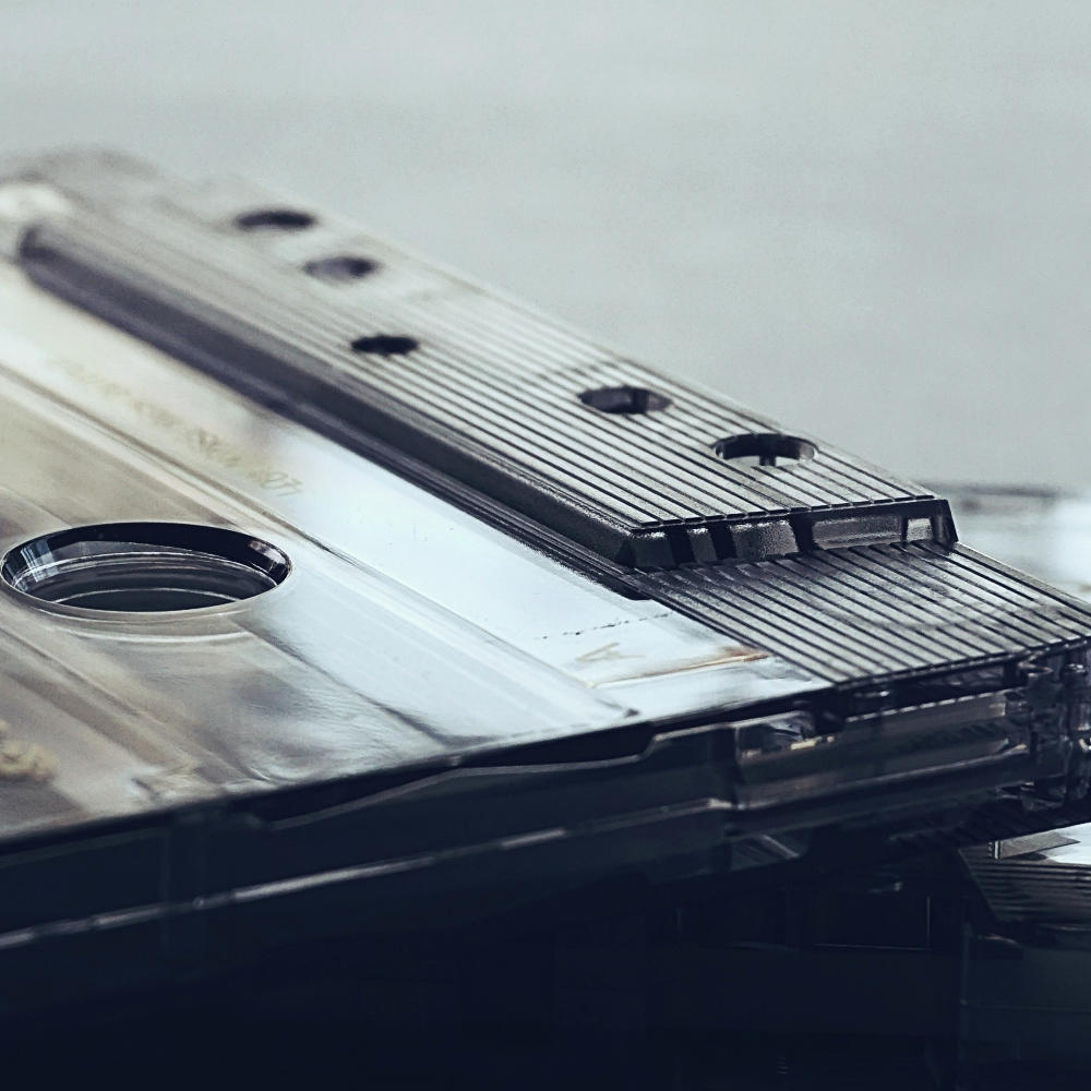 photo of a cassette tape