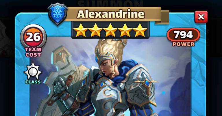 How Good is Alexandrine? Empires and Puzzles HotM Review