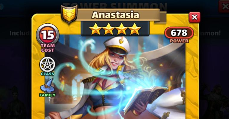 How Good is Anastasia? Empires and Puzzles Magic Review