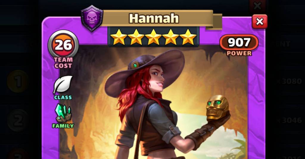 Hannah Empires and Puzzles FEAT