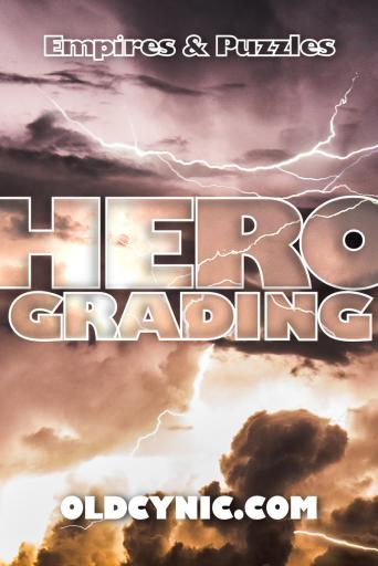 Empires and Puzzles Hero Grades Blog Poster