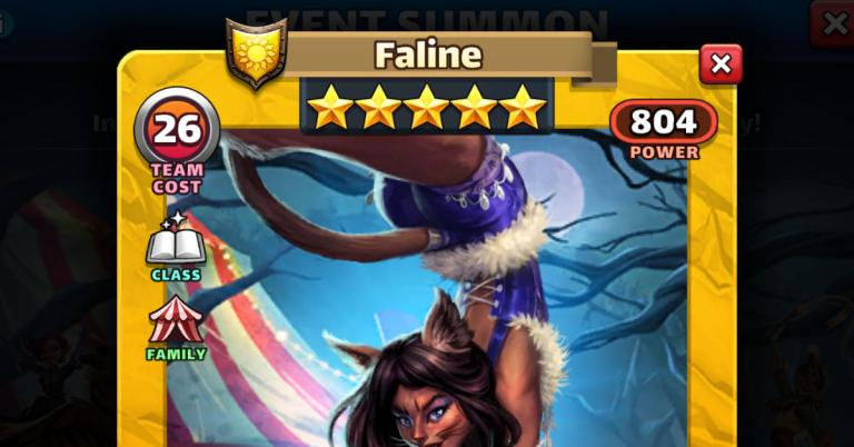 How Good is Faline? Empires and Puzzles Starfall Review