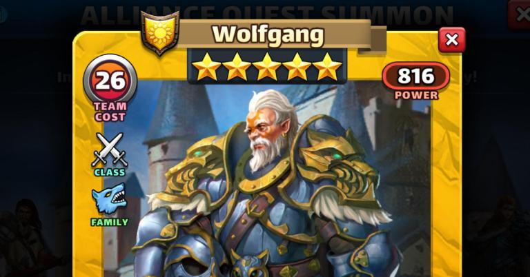 How Good is Wolfgang? Empires and Puzzles Review