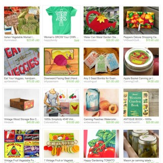 Eat Your Veggies – Etsy Treasury