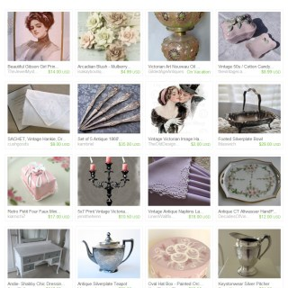 Victorian Shabby Chic…Round Two – Etsy Treasury