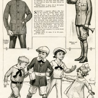 Vintage Children's Wartime Fashion