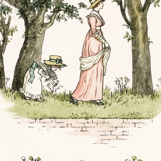 Kate Greenaway The Daisies