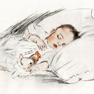 Free Digital Images ~ Vintage Baby Illustrations
