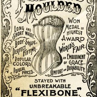 Flexibone Victorian Corset Ad