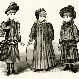 Victorian Fashion for Girls