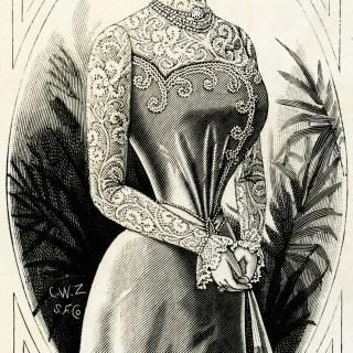 Free Vintage Image ~ Victorian Lady 1899