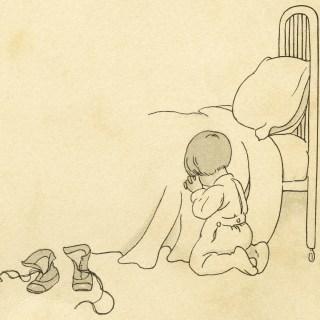 Bedtime Prayers ~ Free Vintage Image